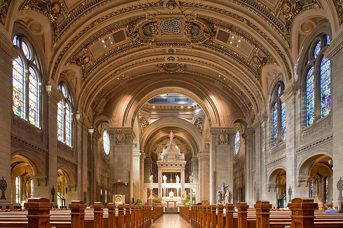 Basilica of St. Mary | Minneapolis, MN | Emmanuel Masqueray